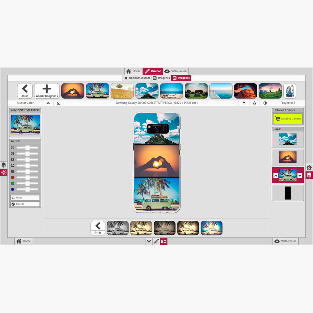 photocenter3d editor carcasas personalizadas
